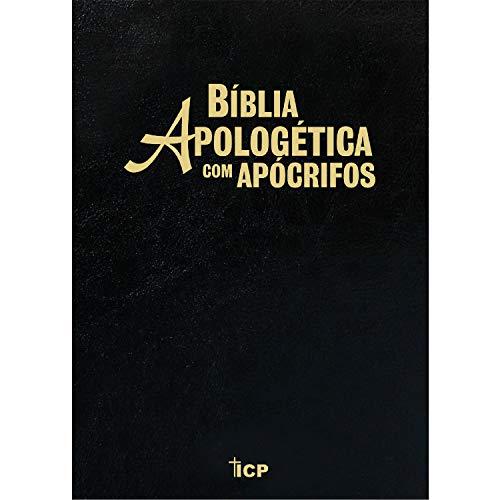 Bíblia Apologética com apócrifos - Luxo RC preta