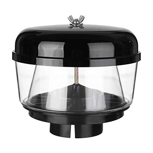 WeiYang 3.5 Pulgadas 88mm Trampa de Agua Snorkel Head Head Head Playa Pre Limpiador Air Flujo de Aire Snorkel Head Snorkel Ram Sand Cup Fit para Toyota Nissans