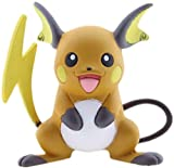 Byrhgood Pokemon Pocket Monsters Moncolle ex MS-40 Raichu 3-5 cm Mini Resina Anime Figura Juguetes para niños Decoración de Autos Familiares creativos