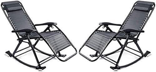UIZSDIUZ Sun Loungers Set of Gravity 2 Chairs Zero Max 73% OFF Superior