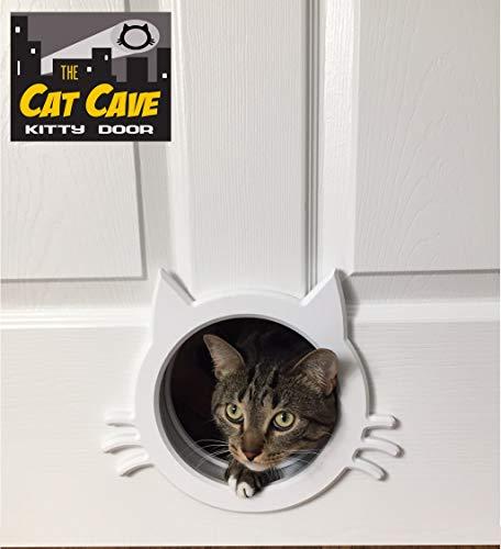 The Cat Cave Puerta Interior para Gato