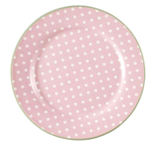 GreenGate Plate Spot Pale pink