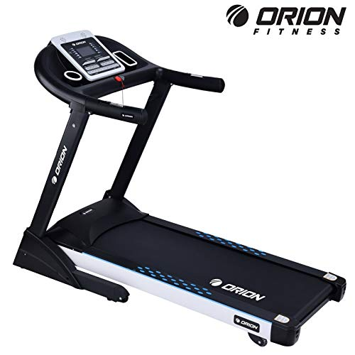 Heimtrainer Fitnessgerät für Fitness bis zuhause elektrisches Klappbar Laufband Orion TRAVEL R9,Steigung auf 15 Ebenen,5.5