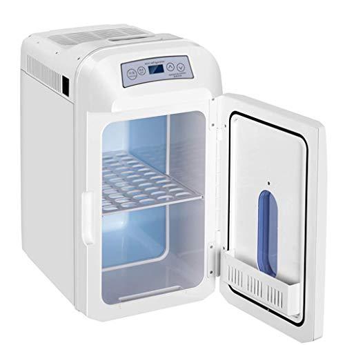 TUNBG draagbare koelkast, digitale weergaveversie, elektrische koeler en verwarmer voor auto en thuis, voor kantoor, vrachtwagen, woonhuis of boot - Dual 110 V ~ 220 V AC huis- en 12/24 V DC-voertuigstekker