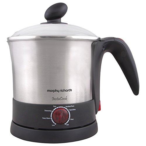 Morphy Richards InstaCook 1200 W, 0.5 Litre Noodle/Pasta & Beverage(Multi-purpose) Electric kettle, Black