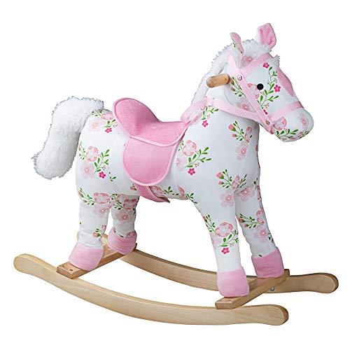 Bigjigs Toys Floral Rocking Horse