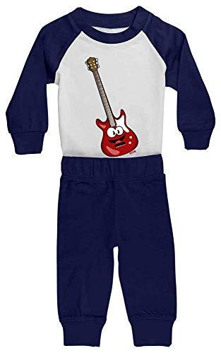 HARIZ Pijama para bebé, guitarra eléctrica, instrumento risa para niños, divertido, con...