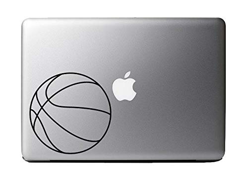 DKISEE Basketball Vinyl Decal Sticker Skin For Macbook Pro Air Laptop Vinyl Decal Sticker Wall Sticker Car Decal 5 inch