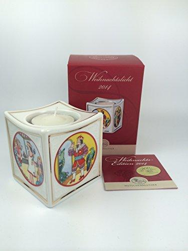Hutschenreuther Porzellan Weihnachtslicht Licht (Tischlicht, Teelicht) 2014 in der Originalverpackung NEU 1.Wahl