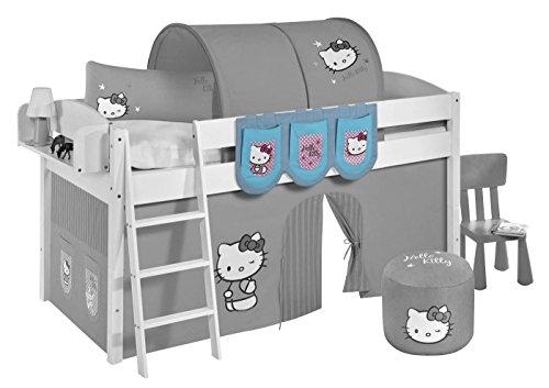 Lilokids Hängetaschen Hello Kitty Türkis - für Hochbett, Spielbett und Etagenbett