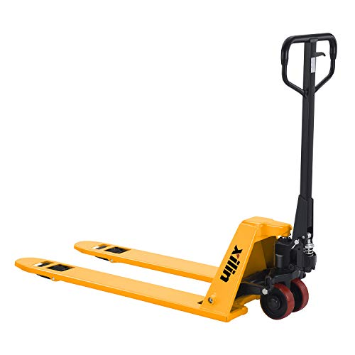"""Xilin Manual Pallet Jack Hand Pallet Truck 2"""" Low Profile 48""""Lx27""""W 3300lbs Capacity BFL-15"""