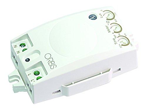 Orbis OB135012 Ecomat Mini 230 volt inbouw-aanwezigheidsmelder voor binnen