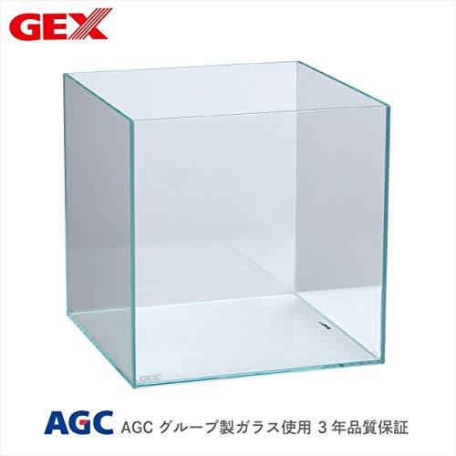 ジェックス グラステリア300キューブ フレームレス水槽 ガラスフタ付 W30×D30×H30cm 3年保証