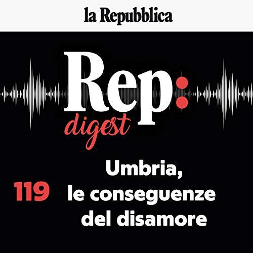 Couverture de Umbria, le conseguenze del disamore