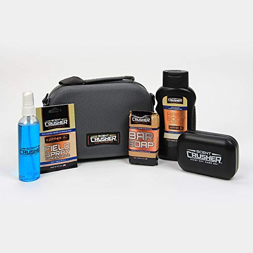 Why Should You Buy Scent Crusher Scent Elimination Travel Kit - Includes Field Spray Concentrate Pou...