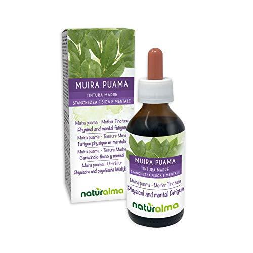 MUIRA PUAMA (Ptychopetalum olacoides) Rinde Naturalma Urtinktur alkoholfreier | Flüssig-Extrakt tropfen 100 ml | Physische und psychische Müdigkeit | Nahrungsergänzungsmittel | Veganer