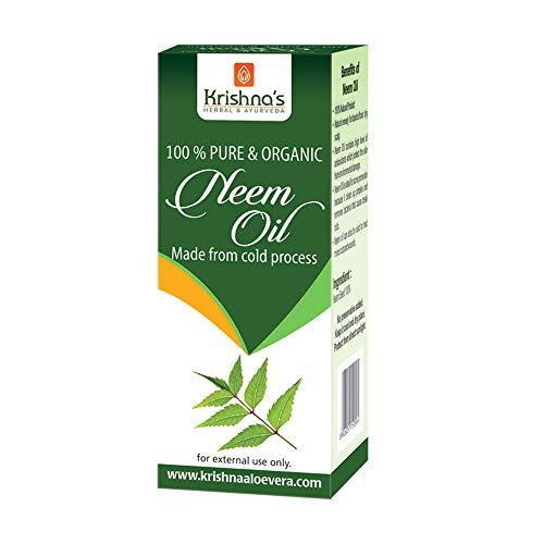 Krishna's Herbal & Ayurveda Pure Neem Oil - 50 ml (Pack of 1)