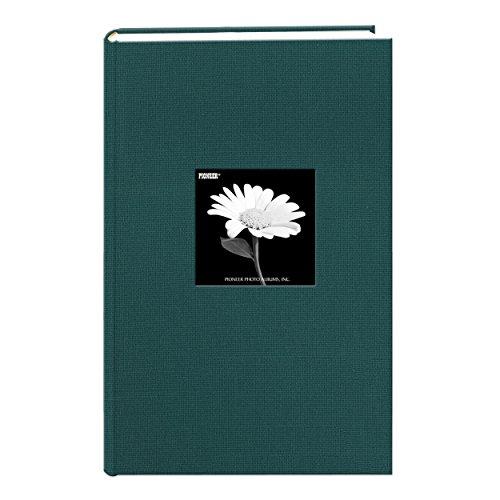 Álbum de fotos com capa de moldura de tecido, comporta 300 fotos de 10 x 15 cm, Majestic Teal