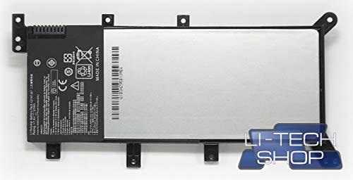 LI-TECH Batería Compatible 5000 mAh para ASUS F555LD-XX1002H Negro Notebook Ordenador 35 WH