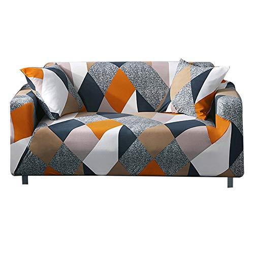 Cafopgrill Funda de sofá Todo Incluido 1 2 3 4 Funda de Deslizamiento para sofá Sofá Lavable, Anti-ácaros y Antiarrugas extraíble(3 Seater :190-230cm)