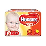 Huggies New Dry S Diapers (36 Pieces)