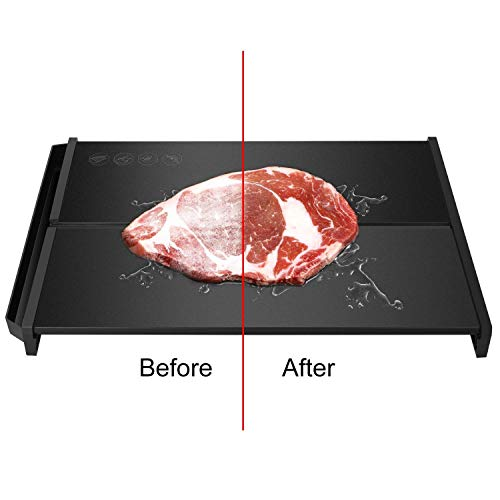 Rapid Defrosting Tray - Natural Thawing for Meats & More