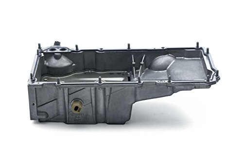 Chevrolet Performance Engine Oil Pan, Rear Sump, Stock Depth, Gasket/Hardware, Aluminum, Natural, GM LS-Series, GM F-Body 1998-2002, Kit