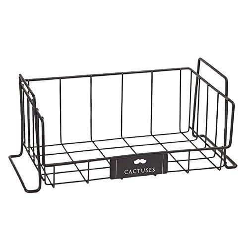 #N/a Organizador de nevera de cocina estante de almacenamiento congelador estante de ahorro de espacio cestas de organización para verduras y frutas