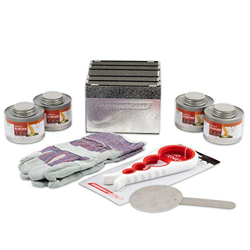 New & Improved! Emergency Cooking Fuel Storage Set with Stove, 20+...