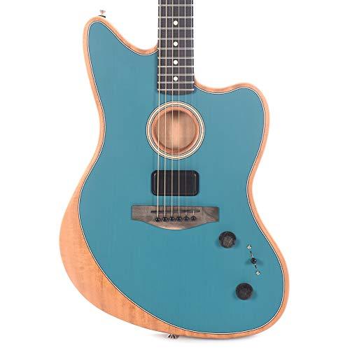 Fender Acoustasonic Jazzmaster Ocean Turquoise · Guitarra eléctrica