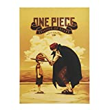 SGOT Anime Poster One Piece Poster Malerei Kraftpapier