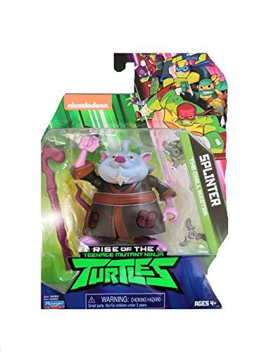 Tortugas Ninja Splinter - Juguete con accesorios de personaje Mutant Turtles