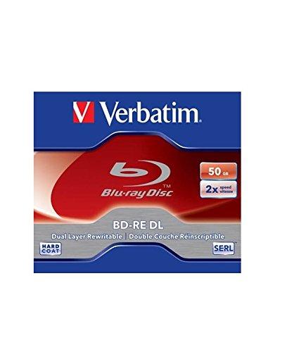 Verbatim 43760 50 GB Blu-Ray-Disc Lesen/Schreiben (BD) – BD-Re-Rohlinge (50 GB, 405 nm)