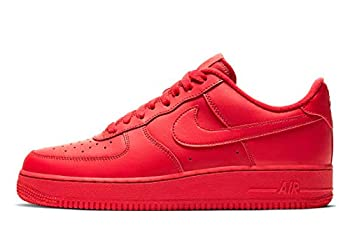 Nike Mens Air Force 1  07 LV8 CW6999 600 Triple Red - Size 12