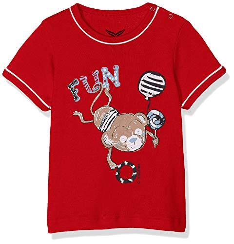 Trigema 185245019 T-Shirt, Rouge (Kirsch 036), 68 Mixte bébé