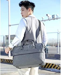 YKDY Large-Capacity Business and Leisure Travel Bag Backpack Men's and Women's Handbag Shoulder Bag (Black) (Color : Grey)