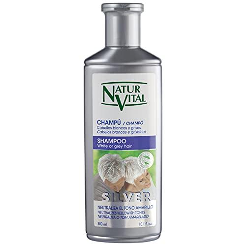 NaturVital Champú Silver