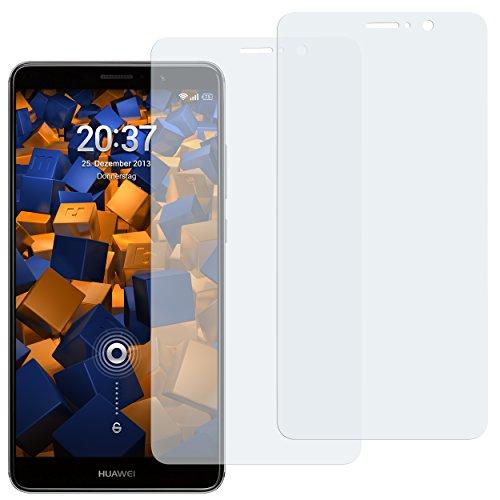 mumbi Schutzfolie kompatibel mit Huawei Mate 9 Folie klar, Bildschirmschutzfolie (2X)
