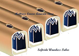 Waveless Tube Cylinder for King & Queen Softside Waterbed Mattress