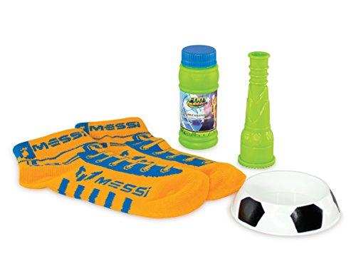 Messi Footbubbles Starter Pack with Socks (Orange)