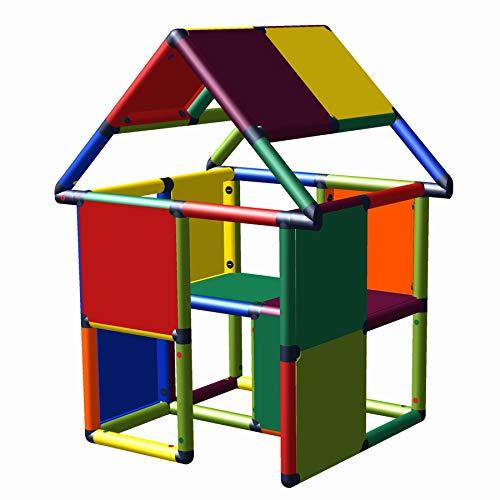 move and stic - Casa de juegos My First Mona para habitación de los niños, interior y exterior, casa de jardín