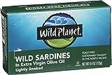 Wild Planet Wild Sardines in Extra Virgin Olive Oil, 4.4 oz
