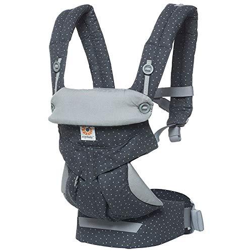 Ergobaby 360 Babytrage 4-Positionen Babytragetasche Kindertrage Rückentrage Bauchtrage, Starry Sky