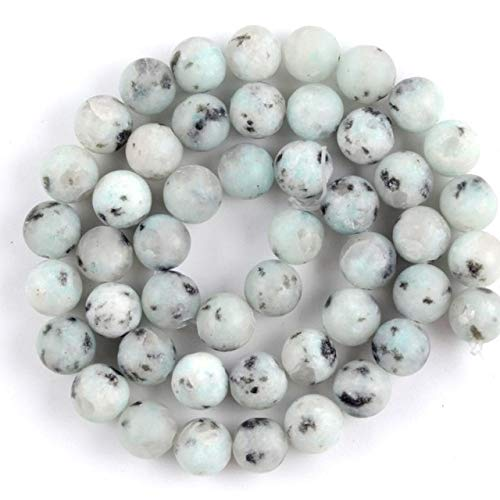 KEJI Natural Matte Jaspers Frosted Agates Jades Quartz Turquoises Stone Round Spacer Bead For Jewelry Making DIY Accessorie