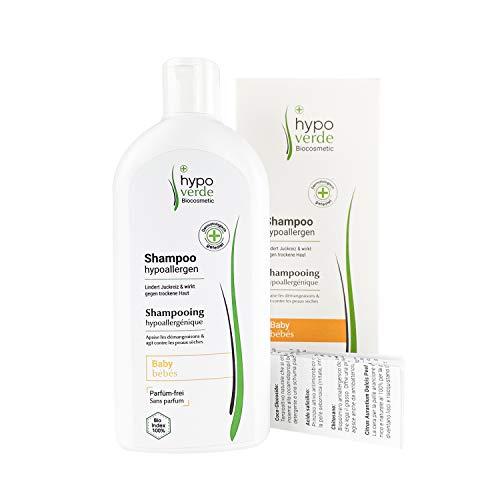 Hypoallergenes Shampoo gegen Juckreiz, Schuppen und trockene Kopf-Haut | Bei Neurodermitis, Psoriasis & Dermatitis | Naturkosmetik | Für Babys geeignet (Baby)