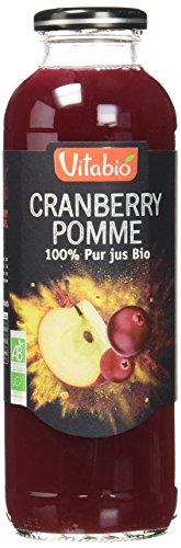 Vitabio 100% Pur Jus Bio Cranberry Pomme 50 cl