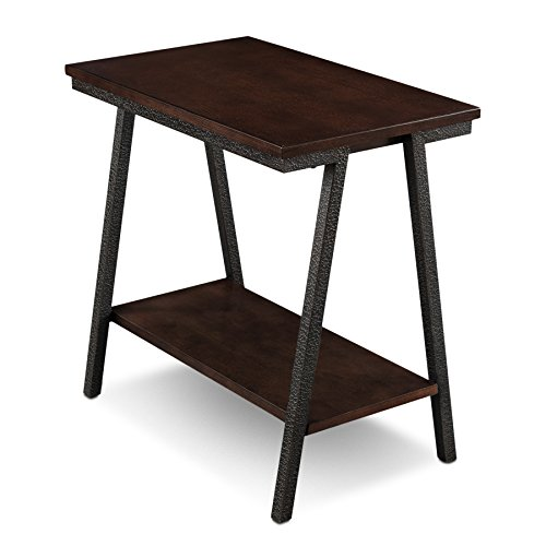 Leick Empiria Chairside End Table, Brown
