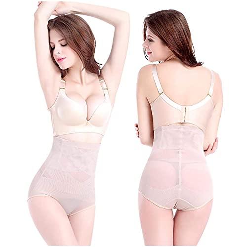 FENGLISUSU Belleza Slim Cross Cover Cellulite Fork Compresion ABS Pantalones de configuración, Traje de baño de Bikini de Cintura Alta para Mujeres (Color : Skin/XXL)