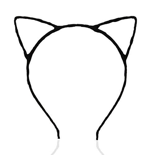 PIXNOR Cute Sexy Womens Attractive Vivid Color Cat Ear HeadBand Hair Band