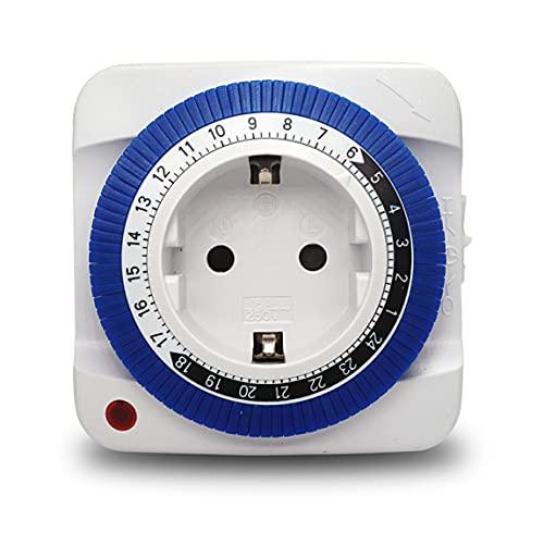 Pumprout Temporizador Motor de carga mecánica Coche Teléfono móvil Enchufe de apagado automático Enchufe de interruptor de sincronización inteligente para el hogar